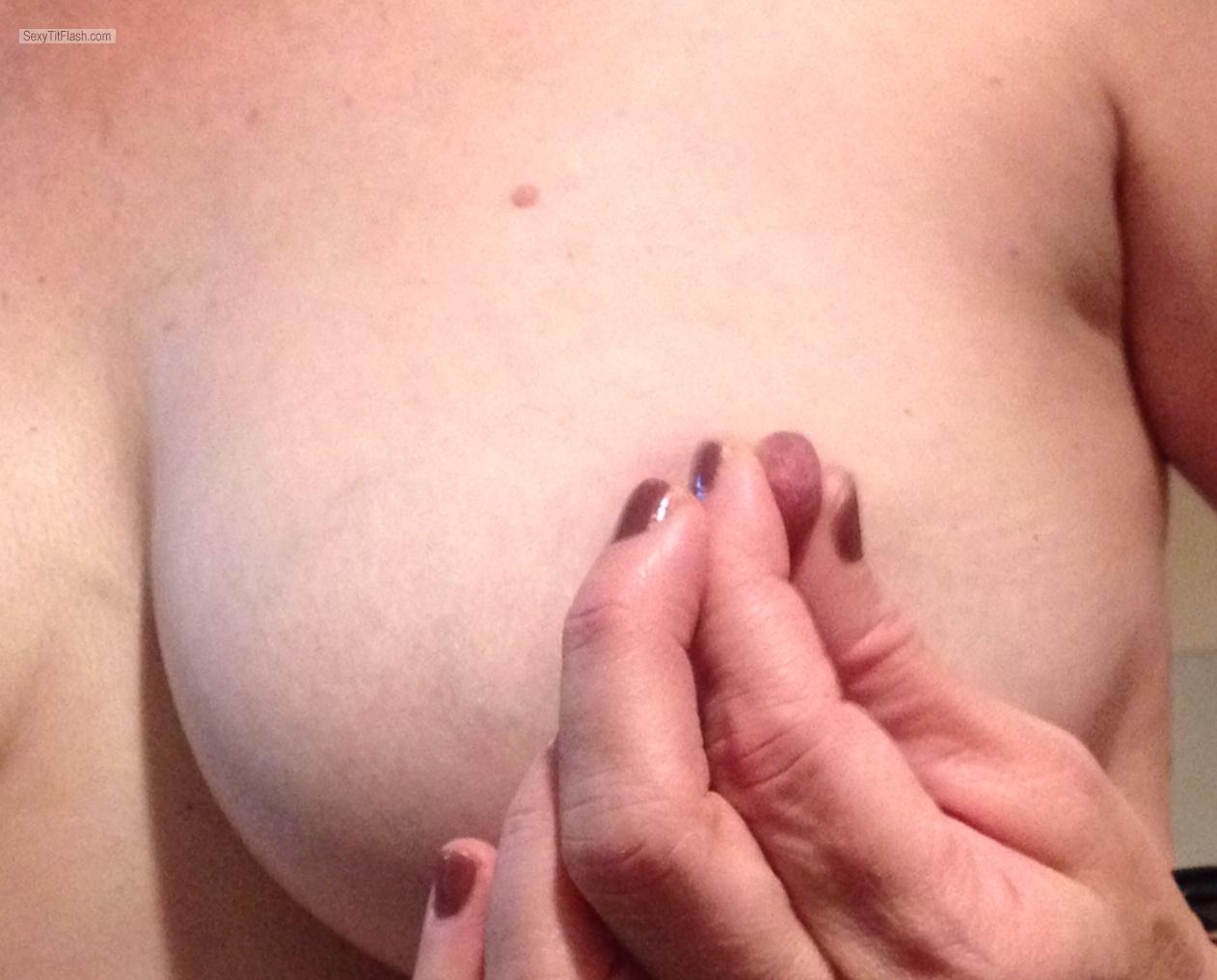 Tit Flash: My Big Tits - Topless Reelnice from United Kingdom